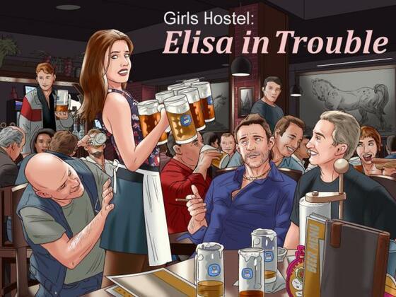 Girls Hostel: Elisa in Trouble Version 0.6.4 by KahVegZul