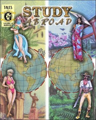 Erosarts - Tales of Gnosis College Comix Vol. 2 - Study Abroad