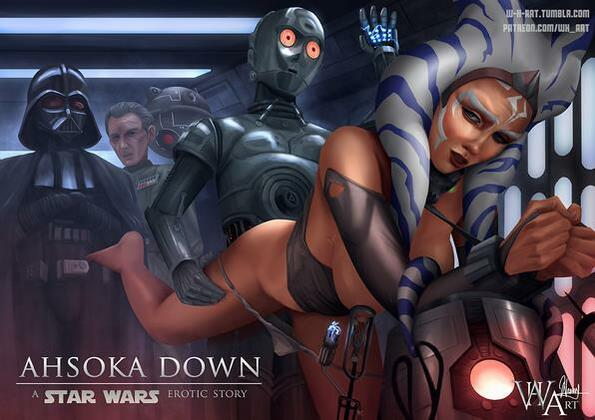 WH-Art - Ahsoka Down (Star Wars)