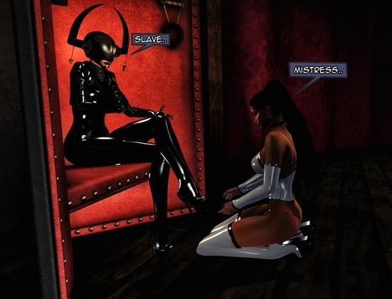 Frenzy in SL - Latex Mistress