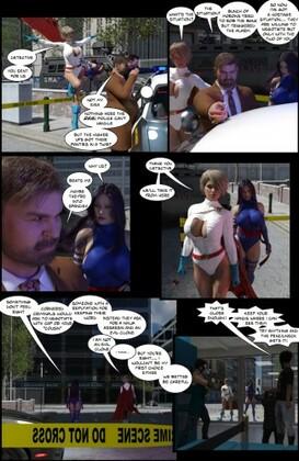Adventuesinenf - Heroines Comic