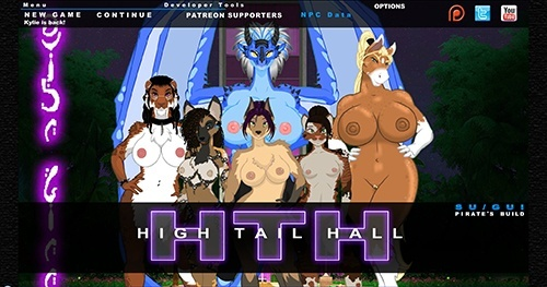 Porn Game: High Tail Hall - Version 0.671 by HTH Studios Win/Mac