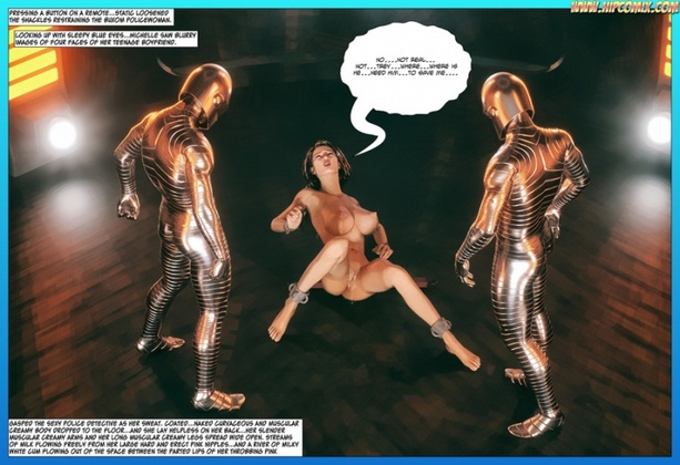 3D  Hipcomix - Scorpion Woman - Slaves of the Black Syrian 46
