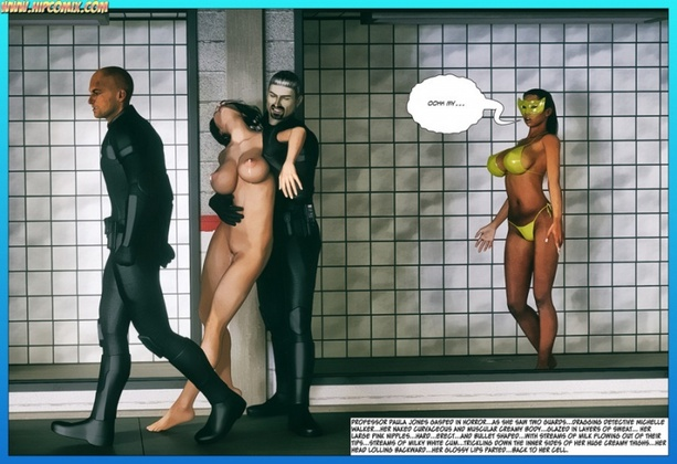 3D  Hipcomix - Scorpion Woman - Slaves of the Black Syrian 47