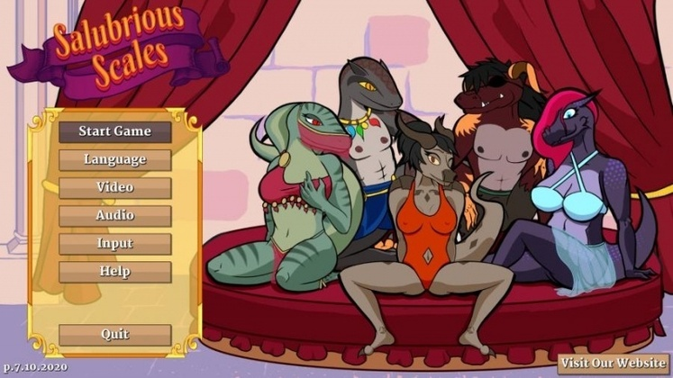 Porn Game: Salubrious Scales - Final by Cherry Blossom Games