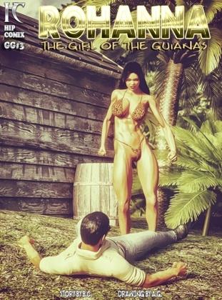 3D  Hipcomix - Rohanna - The Girl of the Guianas 3