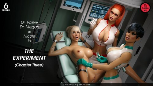 3D  Miki3DX - The Experiment Chapter 3 Eng/French