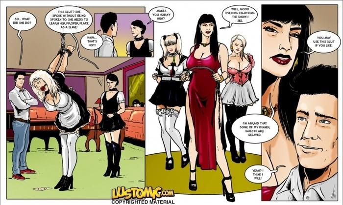 Lustomic - The Mistress\'s Mansion Maids
