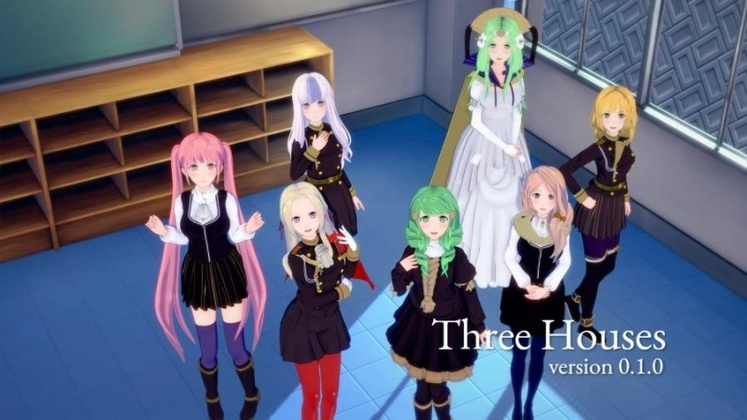 Porn Game: JYP Games - Three Houses Version 0.1.0