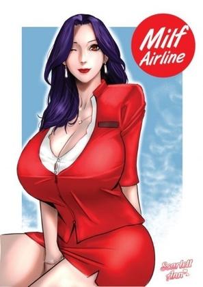 Hentai  Milf Airline