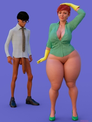3D  The Foxxx - DEXTERS MOM