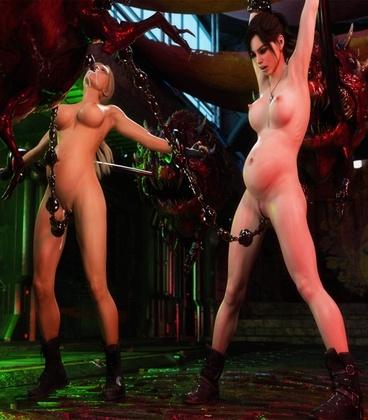 3D  3DZen - Residential Evil XXX 4 - Chaos Streets