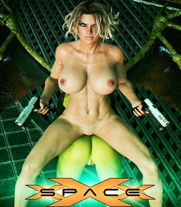 3D  Looks Can Kill - Space XXX Invasion 2