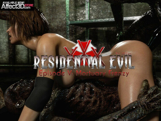3D  3DZen - Residential Evil XXX 5 - Mortuary Frenzy