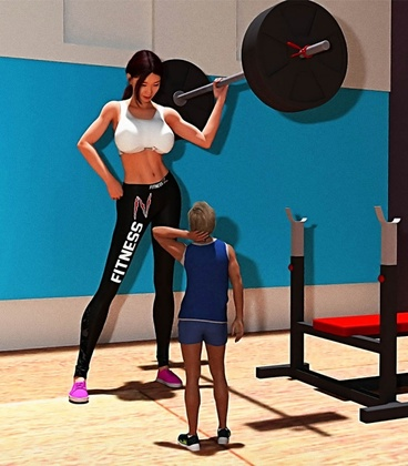 3D  Harafung - A Trip To The Gym