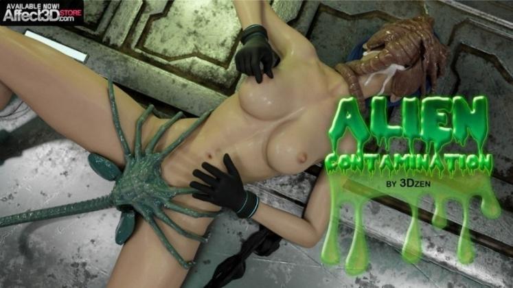 3D  3Dzen - Alien Contamination