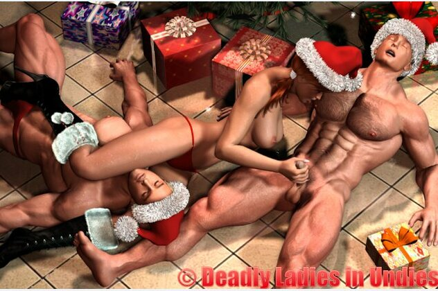 3D  Tasha Morales - Deadly Ladies in Undies Part 08
