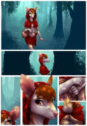 Celeste - Little Red Riding Deer (Hi Res + Alternates)