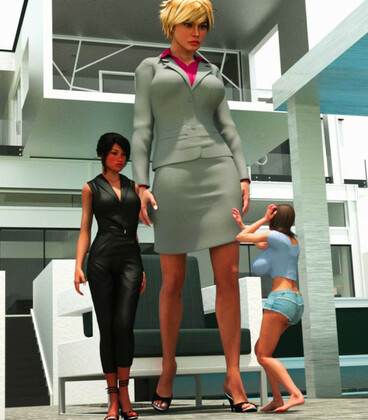 3D  RedFireDog - Overly Attached Giantess 4