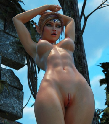 3D  HitmanX3Z - Jungle Ruins