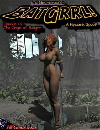 3D  Hipcomix and Jpeger - The Origin Of Batgrrl 1-8