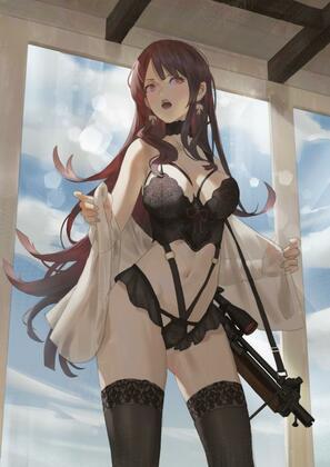 Sexy Girls With Guns By Cirilla