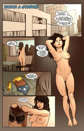 Shade - Worth A Stretch (Wonder Woman,Plastic Man)