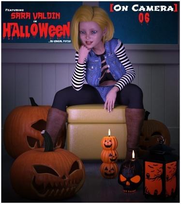 3D  Manual_Focus - On Camera 06 - Sarah Valdin in Halloween