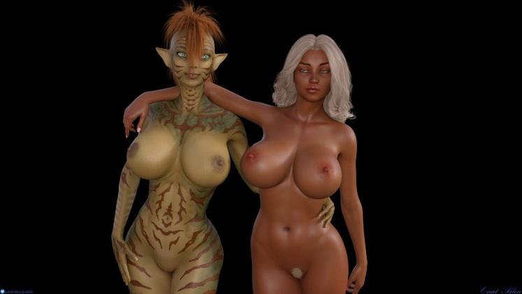 3D  Chat Bleu - Snakes Game
