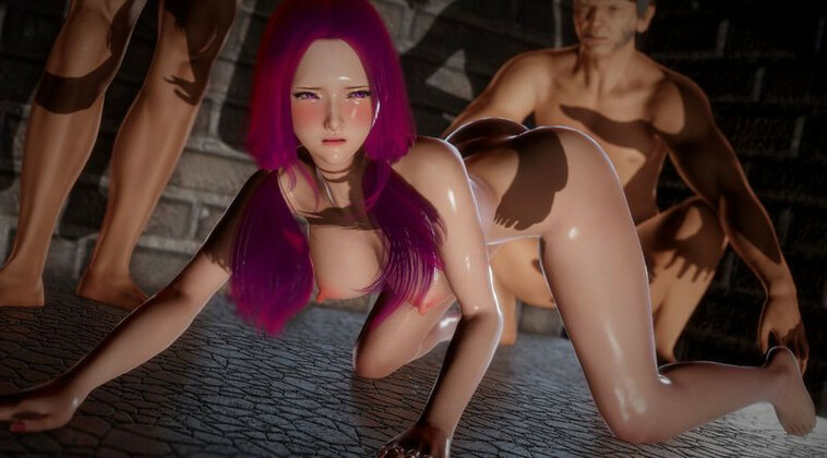 3D  Aneki13 - The policewoman EP 3 - G-spot attacking