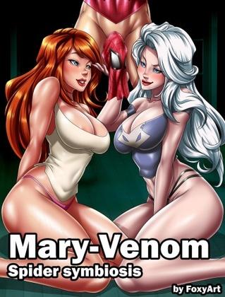 Foxyart - Mary Venom (Spider Symbiosis)