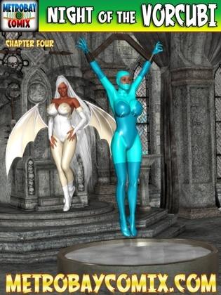 3D  MetrobayComix - Night of the Vorcubi 5