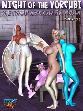 3D  MetrobayComix - Night of the Vorcubi 6