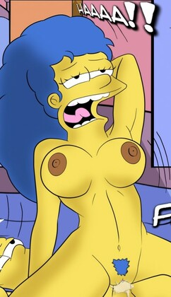 Simpsons Marge and Bart Sinister Son by Croc