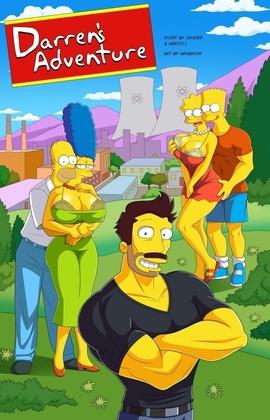 Simpsons Darrens Adventure