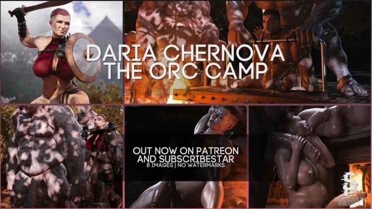 3D  SloP - The Orc Camp