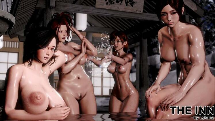 Porn Game: Lykanz - The Inn Rework Version 0.06.6 + Fix + Incest Patch