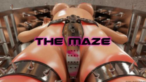 3D  CyberCaptain - The Maze - The Collector 1 Part II + Bonus pic