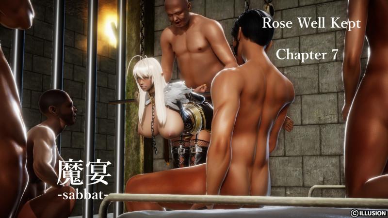 3D  Rock Crow - Rose Well Kept