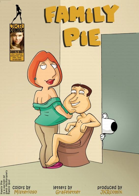 JkrComix - Family Guy Pie