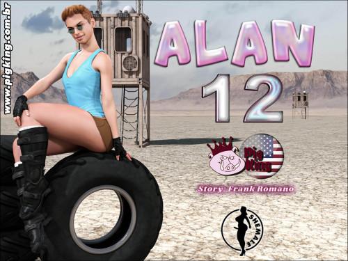 3D  CrazyDad3D - PigKing - Alan 12