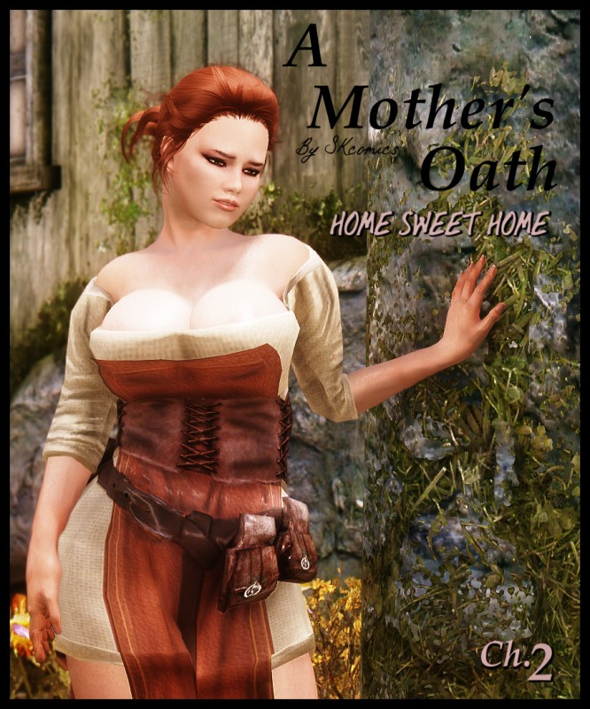 3D  Mother\'s Oath - Chapters 1-3 - SKComics - Mom made promise to her son