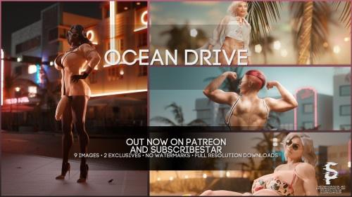 3D  SloP - Ocean Drive
