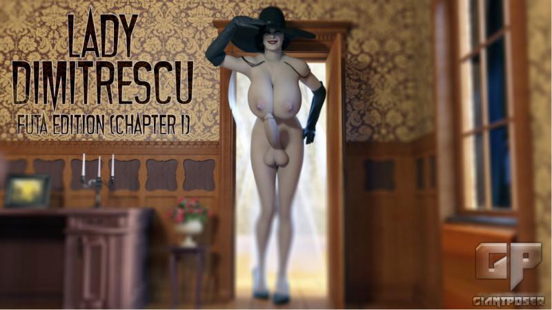 3D  GiantPoser - Lady Dimitrescu - Futa Edition