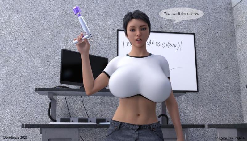 3D  Bikdingle - The Size Ray