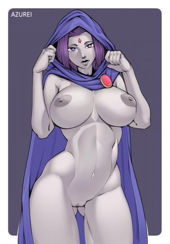 Azurei - Tight Rivalry (Teen Titans)