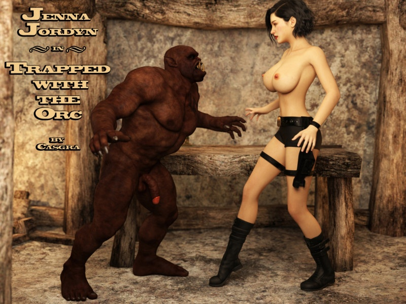 3D  Casgra - Jenna Jordyn - Trapped With The Orc