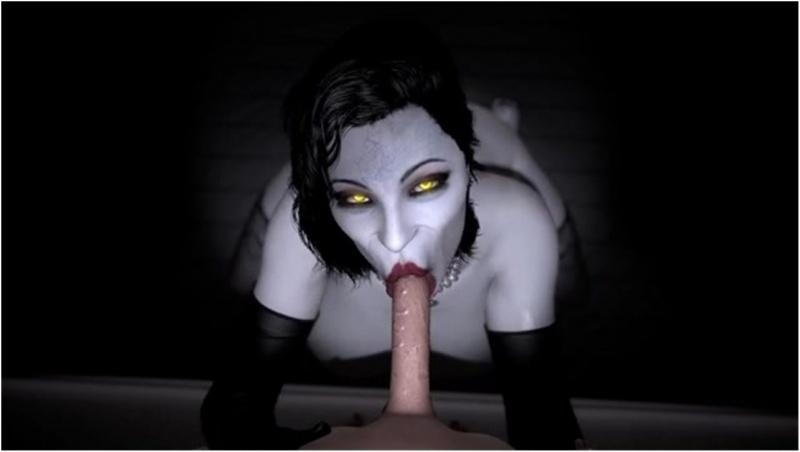Lady Dimitrescu Deepthroat POV