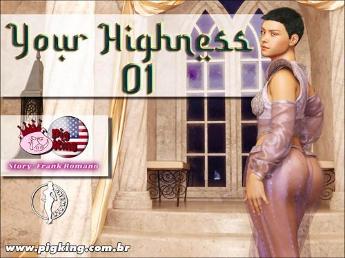 3D  CrazyDad3D - PigKing - Your Highnss 1-4