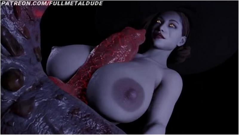 Lady Dimetrescu Titfuck